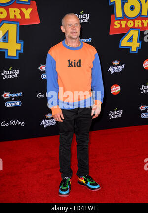 Los Angeles, California, USA. 11th June, 2019. Flea at the world premiere of 'Toy Story 4' at the El Capitan Theatre. Picture: Paul Smith/Featureflash Credit: Paul Smith/Alamy Live News - Stock Photo