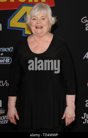 Los Angeles, USA. 11th June, 2019. June Squibb at Disney/Pixar's 'Toy Story 4' World Premiere held at El Capitan Theatre, Hollywood, CA, June 11, 2019. Photo Credit: Joseph Martinez/PictureLux Credit: PictureLux/The Hollywood Archive/Alamy Live News - Stock Photo