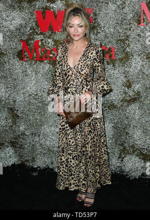 West Hollywood, USA. 11th June, 2019. WEST HOLLYWOOD, LOS ANGELES, CALIFORNIA, USA - JUNE 11: Actress Rebecca Gayheart arrives at the InStyle Max Mara Women In Film Celebration held at Chateau Marmont on June 11, 2019 in West Hollywood, Los Angeles, California, USA. (Photo by Xavier Collin/Image Press Agency) Credit: Image Press Agency/Alamy Live News - Stock Photo