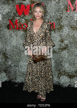 WEST HOLLYWOOD, LOS ANGELES, CALIFORNIA, USA - JUNE 11: Actress Rebecca Gayheart arrives at the InStyle Max Mara Women In Film Celebration held at Chateau Marmont on June 11, 2019 in West Hollywood, Los Angeles, California, USA. (Photo by Xavier Collin/Image Press Agency) - Stock Photo