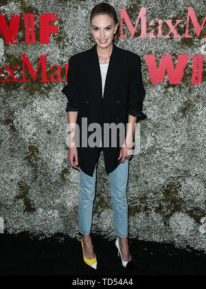 West Hollywood, USA. 11th June, 2019. WEST HOLLYWOOD, LOS ANGELES, CALIFORNIA, USA - JUNE 11: Actress Elizabeth Chambers arrives at the InStyle Max Mara Women In Film Celebration held at Chateau Marmont on June 11, 2019 in West Hollywood, Los Angeles, California, USA. (Photo by Xavier Collin/Image Press Agency) Credit: Image Press Agency/Alamy Live News - Stock Photo