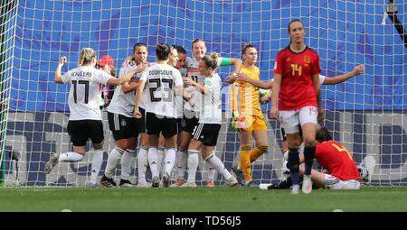 Valenciennes, France. 12th June, 2019. firo: 12.06. Credit: dpa picture alliance/Alamy Live News - Stock Photo