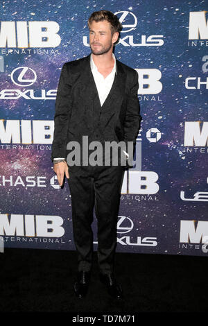 New York, USA. 11th June, 2019. Chris Hemsworth at the world premiere of the movie 'Men in Black: International' at AMC Loews Lincoln Square 13. New York, 11.06.2019 | usage worldwide Credit: dpa/Alamy Live News - Stock Photo
