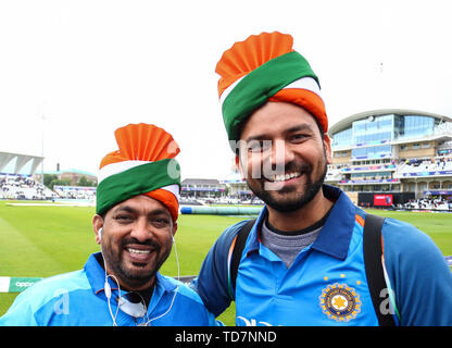 Indian cricket fans at ICC 2019 India vs NewZeland warm up