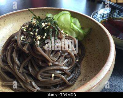 Japanese-style buckwheat cold noodles buckwheat noodles