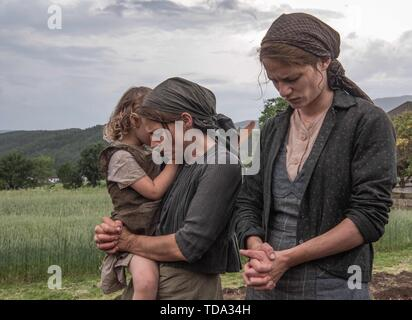 RELEASE DATE: January 17, 2020 TITLE: A Hidden Life STUDIO: Fox Searchlight DIRECTOR: Terrence Malick PLOT: The Austrian St. Franz Jagerstatter, a conscientious objector, refuses to fight for the Nazis in World War II. STARRING: MARIA SIMON as Valerie Pachner. (Credit Image: © Fox Searchlight/Entertainment Pictures) - Stock Photo