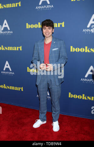 'Booksmart' Premiere at The Theatre at Ace Hotel on May 13, 2019 in Los Angeles, CA  Featuring: Noah Galvin Where: Los Angeles, California, United States When: 14 May 2019 Credit: Nicky Nelson/WENN.com - Stock Photo