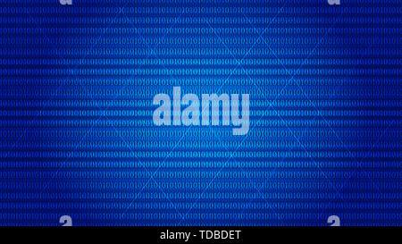 Binary Computer Code Background 01 Digital, Matrix Data Technology Network Design Background - Stock Photo