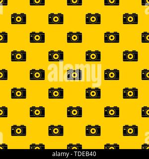 Photo camera pattern vector - Stock Photo