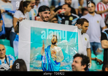 Salvador, Brazil. 15th June, 2019. Brazil. 15th June, 2019. Game of the match between Argentina X Colombia valid for Group B of Copa America 2019, in the Arena Fonte Nova, in Salvador, this Saturday (15). Credit: ZUMA Press, Inc./Alamy Live News - Stock Photo