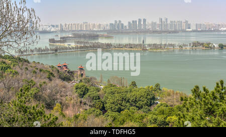 Photographed in Mushan, East Lake, Wuhan on March 2, 2017. - Stock Photo