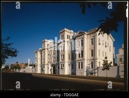 NORTHWEST CORNER - Navy Yard, Main Gate, Eighth and M Streets Southeast, Washington, District of Columbia, DC - Stock Photo