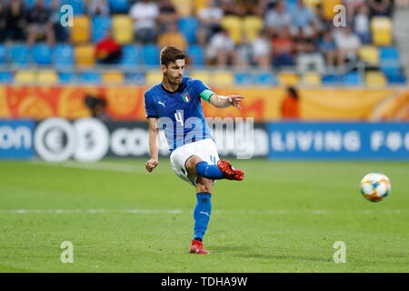 Gdynia, Poland. 14th June, 2019. (ITA) Football/Soccer : FIFA U-20 World Cup Poland 2019 match for 3rd place between Italy 0-1 Ecuador at the Gdynia Stadium in Gdynia, Poland . Credit: Mutsu KAWAMORI/AFLO/Alamy Live News - Stock Photo
