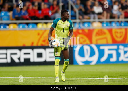 Gdynia, Poland. 14th June, 2019. Moises Ramirez (ECU) Football/Soccer : FIFA U-20 World Cup Poland 2019 match for 3rd place between Italy 0-1 Ecuador at the Gdynia Stadium in Gdynia, Poland . Credit: Mutsu KAWAMORI/AFLO/Alamy Live News - Stock Photo