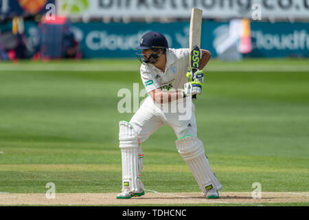 Chelmsford, UK. 16th June, 2019. during Specsavers County Championship match: Essex vs Hampshire at Chelmsford Cricket Ground on Sunday, June 16, 2019 in CHELMSFORD England. (Editorial use only, license required for commercial use. No use in betting, games or a single club/league/player publications.) Credit: Taka G Wu/Alamy Live News - Stock Photo
