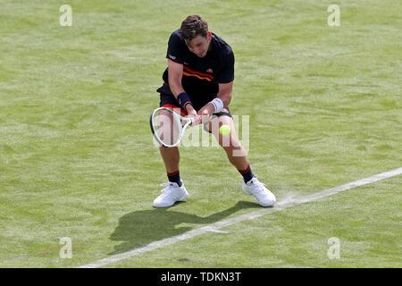 London, UK. 17th June, 2019.  Cameron Norrie (GBR) during the Fever Tree Tennis Championships at the Queen's Club, West Kensington on Monday 17th June 2019. (Credit: Jon Bromley | MI News) Credit: MI News & Sport /Alamy Live News - Stock Photo