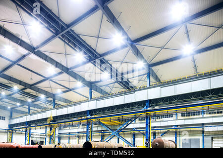 Interior of factory workshop - Stock Photo