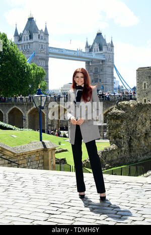 Zendaya attending the Spider-Man: Far From Home Photocall held at the Tower of London. - Stock Photo
