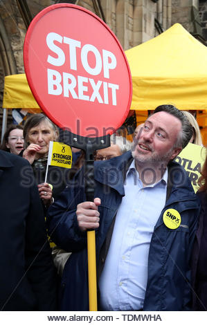 File photo dated 18/05/19 of SNP MEP Alyn Smith, who has issued an apology to Brexit Party chairman MEP Richard Tice over claims he made about the party's source of funding. - Stock Photo