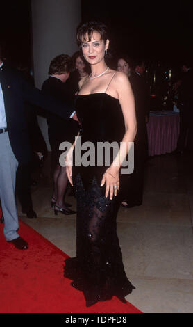Mar 28, 1999; Los Angeles, CA, USA; Actress CATHERINE BELL attends the Genesis Awards..  (Credit Image: Chris Delmas/ZUMA Wire) - Stock Photo