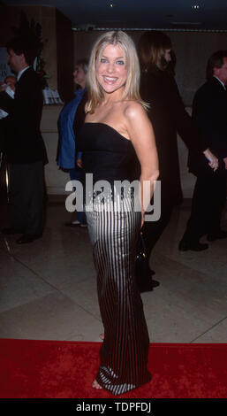 Mar 28, 1999; Los Angeles, CA, USA; Actress JENNIFER ASPEN attends the Genesis Awards..  (Credit Image: Chris Delmas/ZUMA Wire) - Stock Photo
