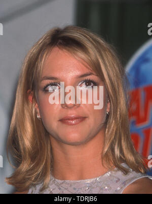 Sep 01, 1999 - Los Angeles, California, USA - BRITNEY SPEARS at Planet Hollywood for the 'Drive Me Crazy' movie premiere (Credit Image: Chris Delmas/ZUMA Wire) - Stock Photo