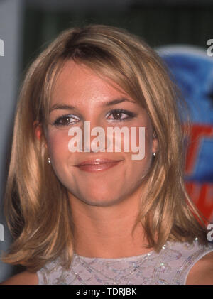 Sep 01, 1999 - Los Angeles, California, USA - BRITNEY SPEARS at Planet Hollywood for the premiere of 'Drive Crazy (Credit Image: Chris Delmas/ZUMA Wire) - Stock Photo
