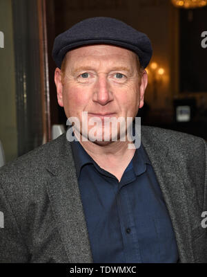 London, UK. 19th June, 2019. Adrian Scarborough at the Bitter Wheat Press Night at the Garrick Theatre, Charing Cross Road Credit: SOPA Images Limited/Alamy Live News - Stock Photo