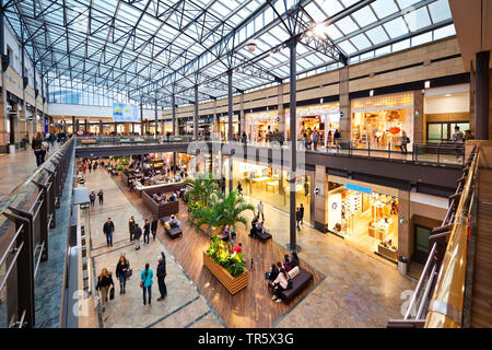 shopping centre CentrO in Oberhausen, Germany, North Rhine-Westphalia, Ruhr Area, Oberhausen - Stock Photo