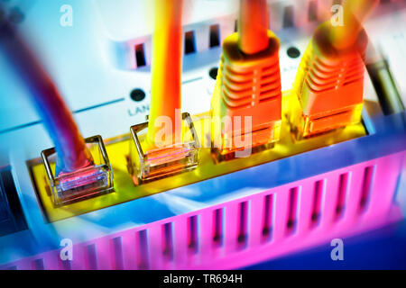symbol foto broadband internet, Germany - Stock Photo