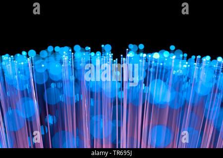 symbol foto broadband internet, fibreglass, Germany - Stock Photo