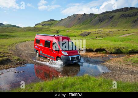Camper Van Recreational Vehicles Rv Parked At Norwegian