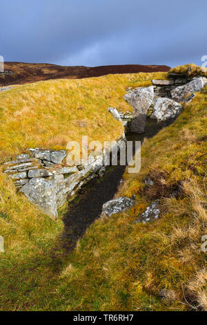 Megalithanlage Cairn o' Get, Grossbritannien, Schottland, Caithness, Ulbster | Cairn o' Get, United Kingdom, Scotland, Caithness, Ulbster | BLWS489659 - Stock Photo