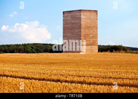 chapel Bruder-Klaus-Feldkapelle in Mechernich, Germany, North Rhine-Westphalia, Eifel, Mechernich - Stock Photo