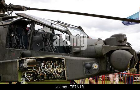 AgusteWestland Apache AH-MK1 - Stock Photo