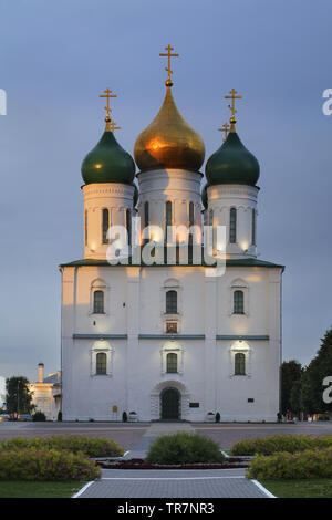 Assumption cathedral in Kolomna Kremlin. Russia - Stock Photo
