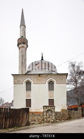 Varoska  mosque in Travnik. Bosnia and Herzegovina - Stock Photo