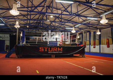 Boxingring - Stock Photo