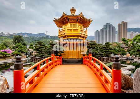 Pavilion Of Absolute Perfection, Nan Lian Garden, Hong Kong, China