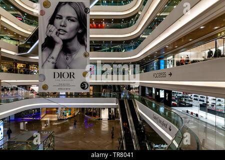 Times Square Shopping Mall, Causeway Bay, Hong Kong, China - Stock Photo