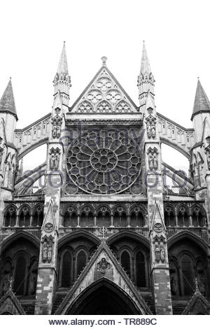 Westminster Abbey, London - Stock Photo