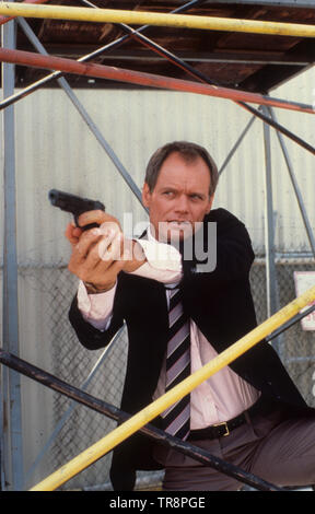 fred dryer, hunter, 1984 - Stock Photo