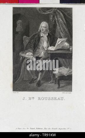 Rousseau, Jean Baptiste, Additional-Rights-Clearance-Info-Not-Available - Stock Photo