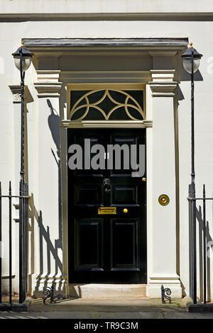 London, England, UK. Door of 11 Downing Street - Stock Photo