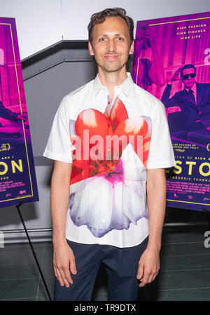 New York, NY - May 22, 2019: Paul Dallas attends special screening of Halston at Museum of Modern Art - Stock Photo