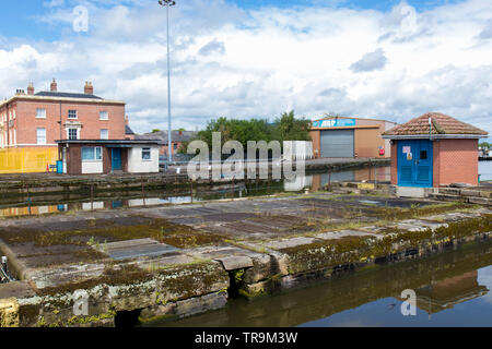 Goole, inland port, in May 2019 - Stock Photo