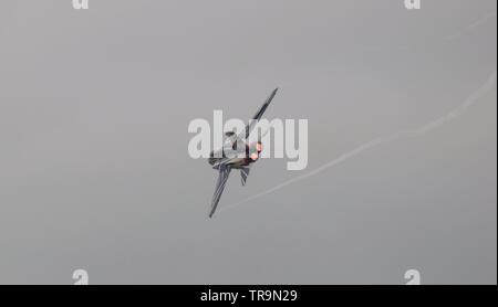 Spanish Air Force EF-18A Hornet - Stock Photo