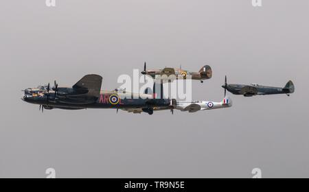 60th Anniversary Battle of Britain Memorial Flight - Stock Photo