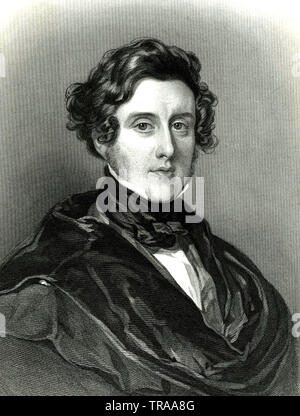 ANTHONY ASHLEY-COOPER 7th Earl Shaftesbury (1801-1885) - Stock Photo