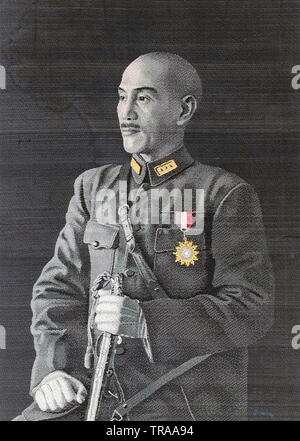 CHIANG KAI-SHEK (1887-1975) as leader of the Republic of China - Stock Photo